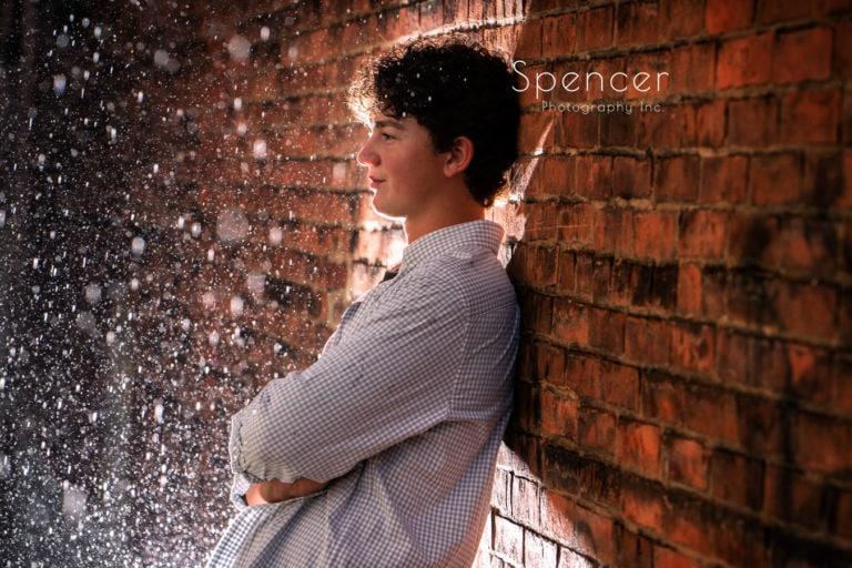 Rainy Day Senior Photos in Wadsworth // Cleveland Senior Portrait Photographers