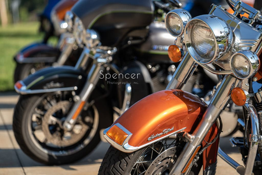 greater akron motorcycle club wedding