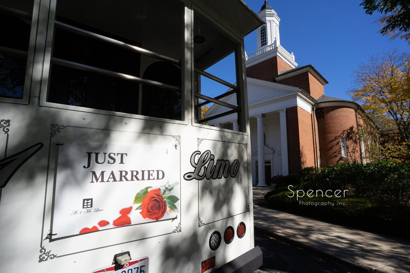 wedding ceremony at St. Dominic in Shaker Heights