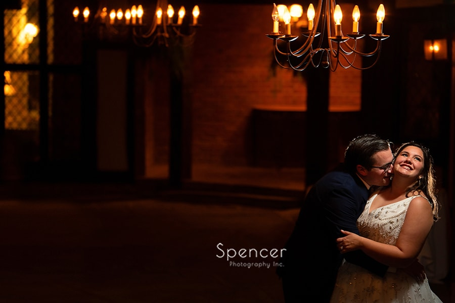 beautiful wedding picture at the Club at Hillbrook