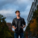 Aidan's Senior Pictures in the Cleveland Flats // Cleveland Senior Photographer