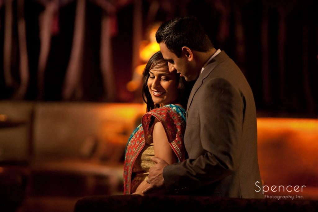 Indian couple at House of Blues Cleveland