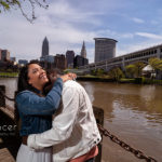 Engagement Pictures at Cleveland East Bank // Cleveland Photographers
