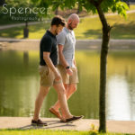 Engagement Pics at Wade Oval Park // Cleveland Photographers