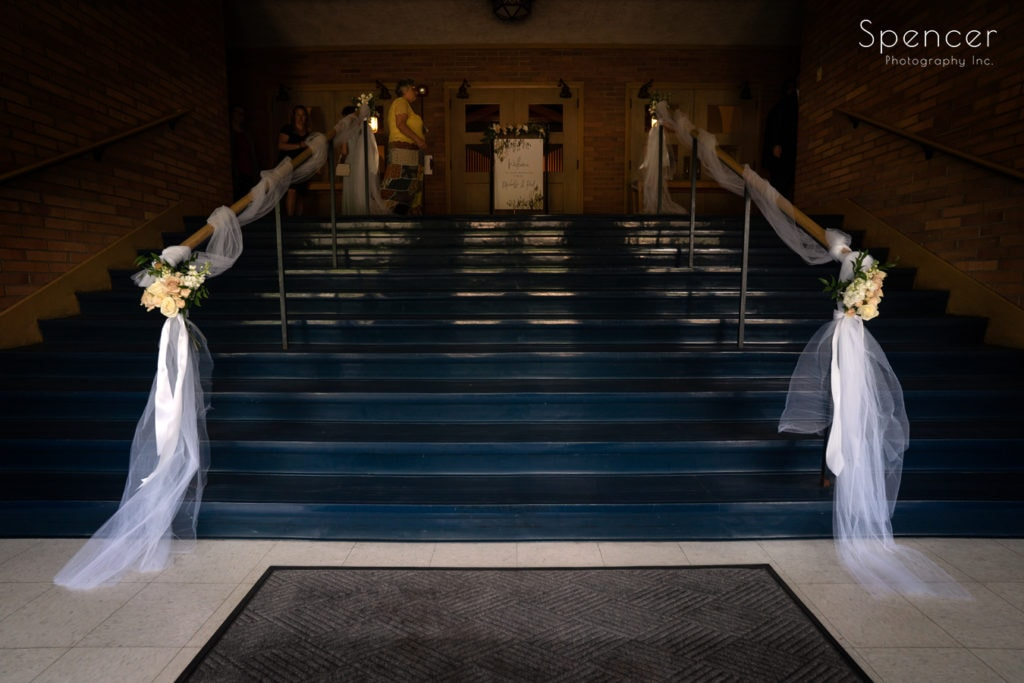 wedding at The Chapel Akron