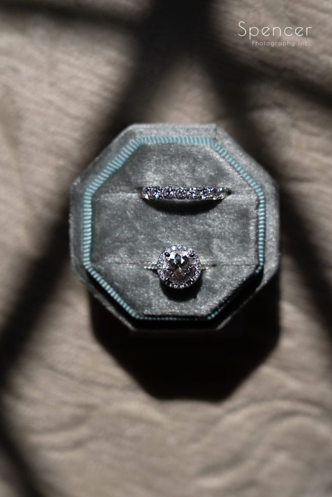 wedding ring at O'Neil House Akron