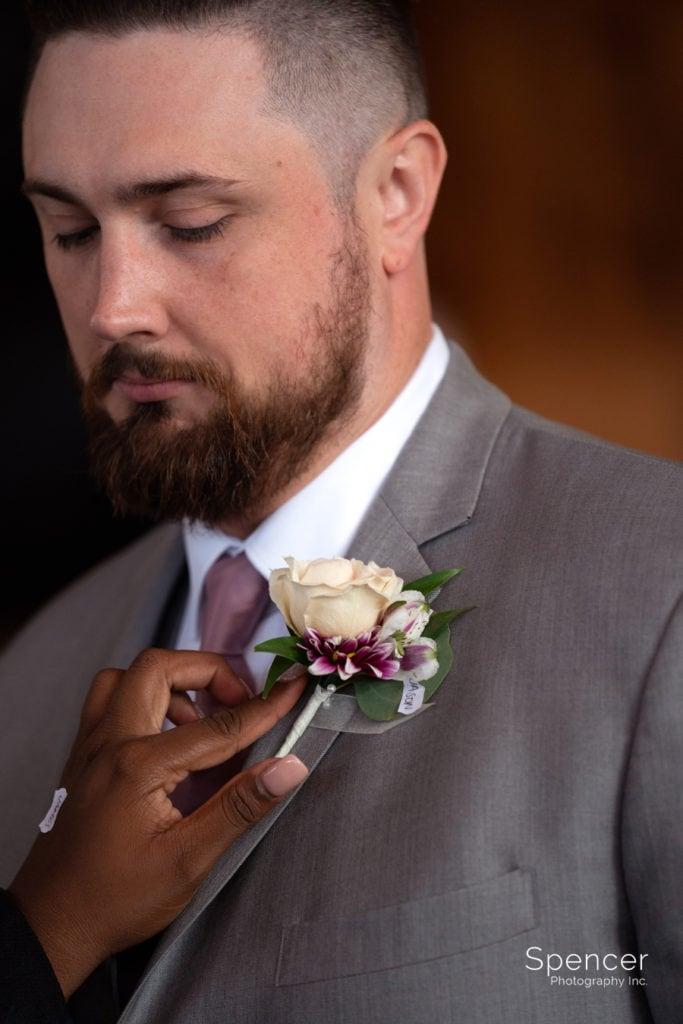 groomsmen getting help from Vision Pushers