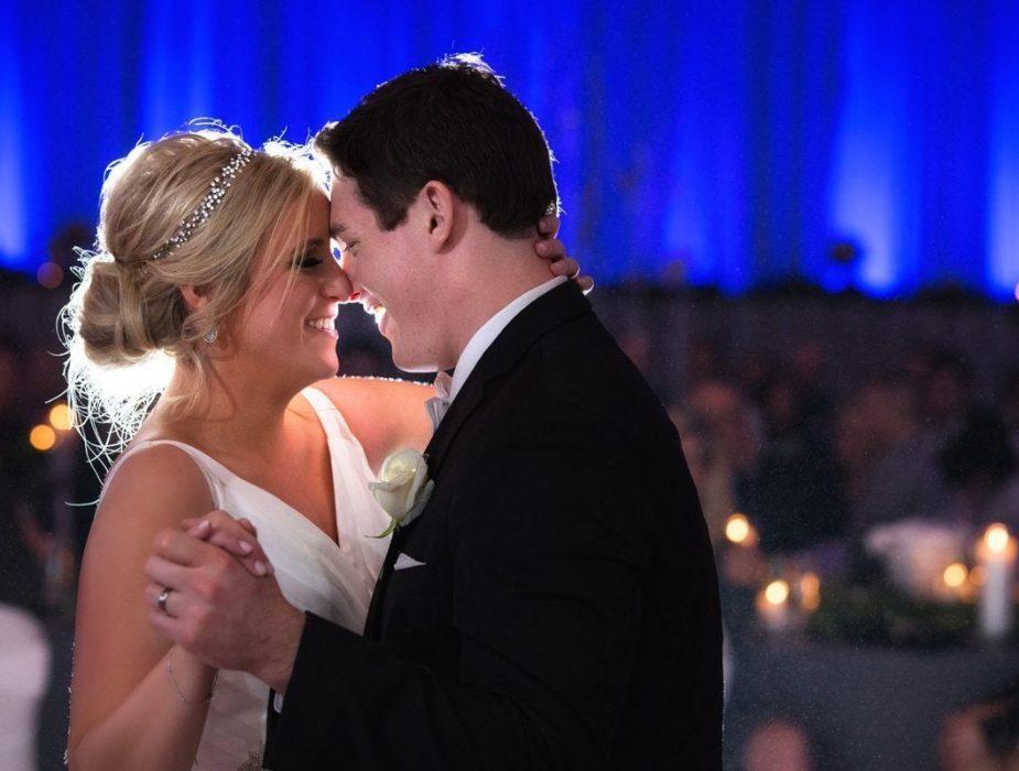 first dance wedding reception at renaissance Cleveland